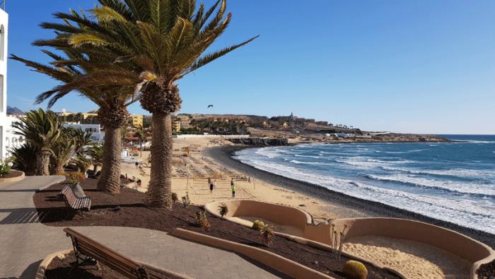 Strand vor dem Sotavento Beach Club