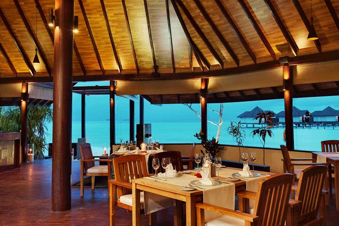 Robinson Maldives Restaurant