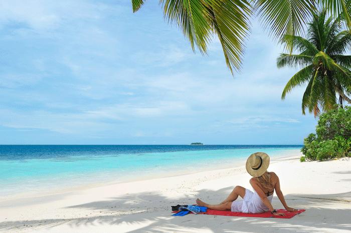 Robinson Maldives Strand
