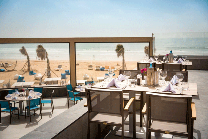 Strandrestaurant Robinson Agadir